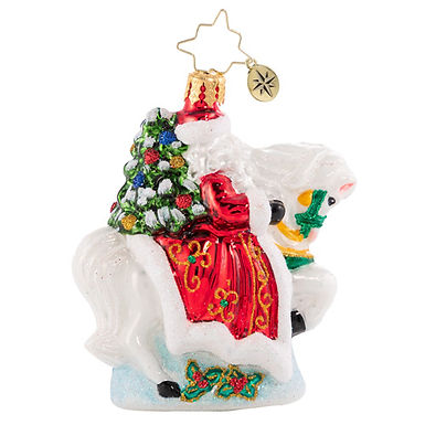 Christopher Radko Galloping into Christmas Little Gem 1020563