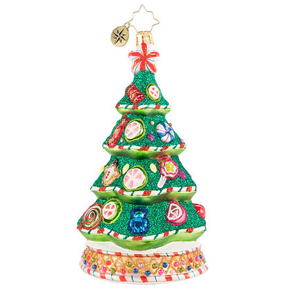 Christopher Radko A Candy Coated Delight Tree 1020682 Christmas Ornament