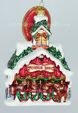 Christopher Radko Goodnight Donner, Goodnight Blitzen 1019221 Christmas Ornament