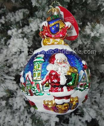 Christopher Radko A Global Affair Santa 1019412
