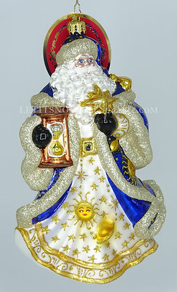 Christopher Radko Celestial Santa 1020078 Christmas Ornament