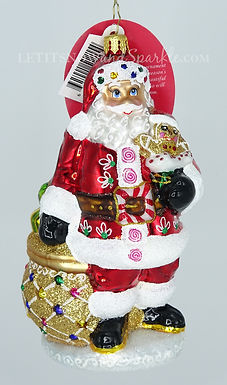 Christopher Radko Sweet Delivery For All! Santa 1020375 Christmas Ornament
