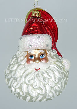 Christopher Radko Classic St Nick Santa 1020432 Unique Christmas Ornament