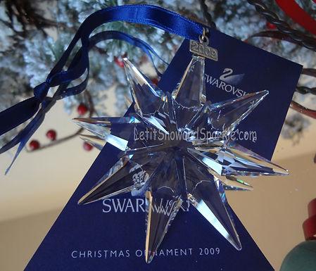 2009 Swarovski Annual Edition Christmas Ornament