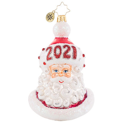 Christopher Radko Styling And Smiling In 2021 Santa 1020773