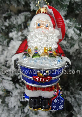 Christopher Radko Hopped Up For The Holidays Santa 1019493