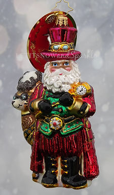 Christopher Radko Steampunk Santa! 1019865