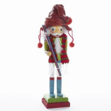 Kurt Adler HA0346 15 inch Hollywood Skier Nutcracker New 2018