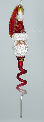Christopher Radko Corkscrew Claus Santa 1020420