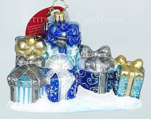 Christopher Radko Presenting an Elegant Ensemble 1019518 Christmas Ornament