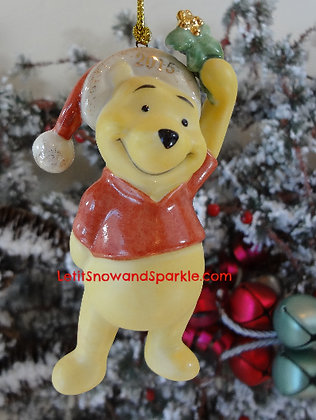 2015 Disney's Kiss Me Pooh Ornament by Lenox