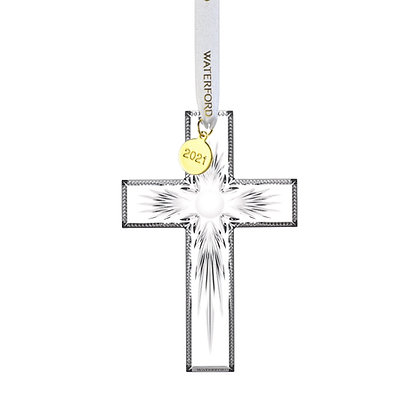 Waterford 2021 Cross Ornament 1059686