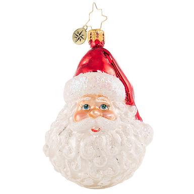 Christopher Radko Classic St Nick Little Gem Santa 1020647 Christmas Ornament