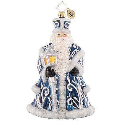 Christopher Radko A Beacon Of Brilliance Santa 1020614 Christmas Ornament