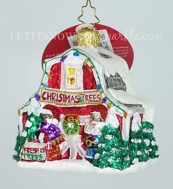 Christopher Radko North Pole Tree Farm Gem 1019662 Unique Christmas Ornament