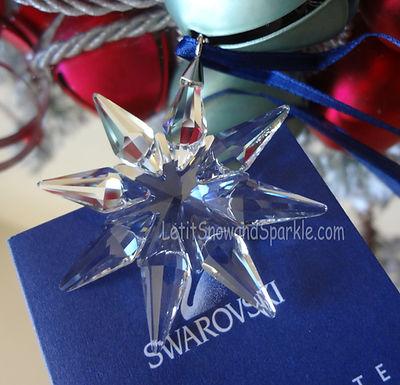 2009 Swarovski Annual Little Christmas Ornament