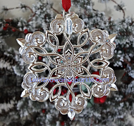 2015 Snow Majesty Ornament by Lenox