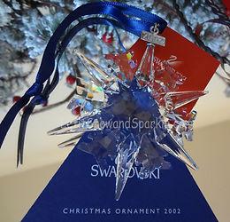 2002 Swarovski Annual Edition Christmas Ornament