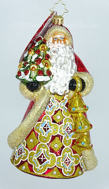 Christopher Radko Jingle For All to Hear 1019671 Unique Christmas Ornament