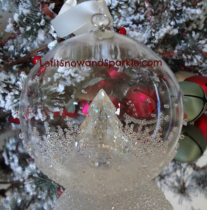 2013 SWAROVSKI CRYSTAL ANNUAL CHRISTMAS BALL