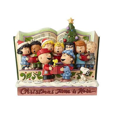 Peanuts by Jim Shore Peanuts Christmas Time Storybook 6000983 New 2018