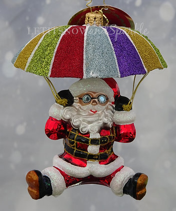 Christopher Radko Look Out Below! Santa 1019826