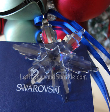 2006 Swarovski Annual Little Christmas Ornament
