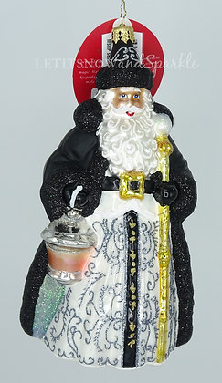 Christopher Radko A Black-Tie Affair Santa 1020297 Christmas Ornament