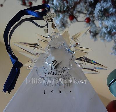 1997 Swarovski Annual Edition Christmas Ornament