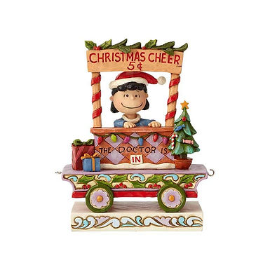 Peanuts by Jim Shore Lucy Christmas Train 6000991 New 2018