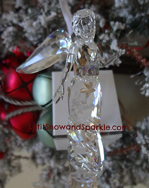 2012 SWAROVSKI CRYSTAL ANNUAL ANGEL ORNAMENT