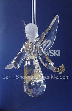 2008 SWAROVSKI CRYSTAL ANNUAL ANGEL ORNAMENT 939734 CHRISTMAS RETIRED