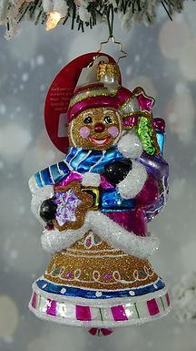 Christopher Radko Ginger Sweet Bells 1020009