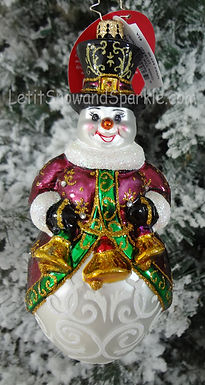 Christopher Radko Quite The Production! Snowman 1019320