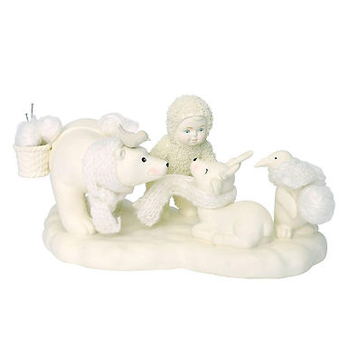 Snowbabies Peace Wrapped in Warmth 6001987 Department 56 New 2018
