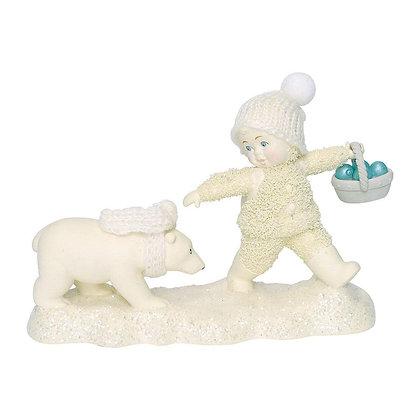 Snowbabies Peace Tag-A-Long Cub 6000857 Department 56 New 2018