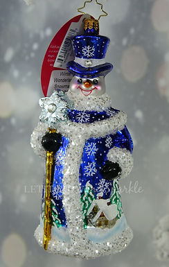 Christopher Radko Winter Wonderland Snowman