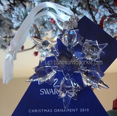 2010 Swarovski Annual Edition Christmas Ornament
