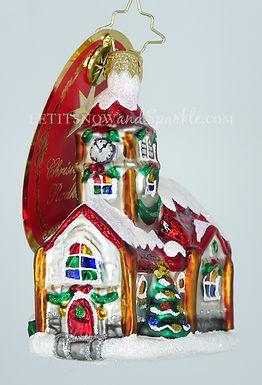 Christopher Radko Christmas Chapel Gem 1020244