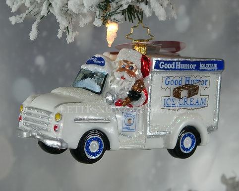 Christopher Radko Santa Has Great Taste! 1020006