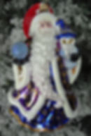 Christopher Radko 2018 Ornament Santa Ornament