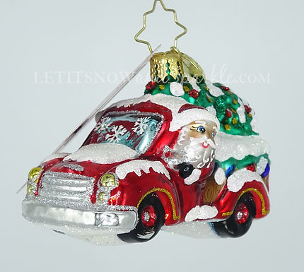 Christopher Radko Christmas Tree Delivery Gem 1020247