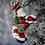 Thumbnail: Christopher Radko Wash and Wear Santa Christmas Ornament 1019254
