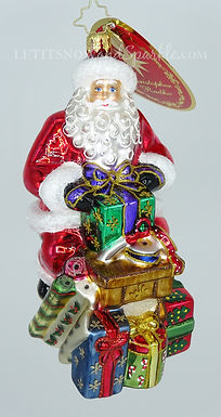Christopher Radko Workshop Wonders 1019767 Christmas Ornament