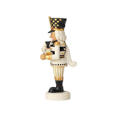 Jim Shore Heartwood Creek Black and Gold Nutcracker 6001437 New 2018