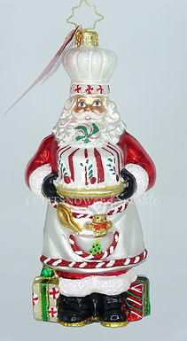 Christopher Radko Baked With Love Santa 1020376 Unique Christmas Ornament