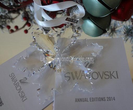 2014 Swarovski Annual Edition Christmas Ornament