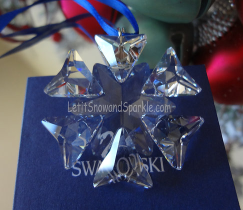 2007 Swarovski Annual Little Christmas Ornament