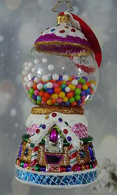 Christopher Radko Gumball Goodies 1020027 Unique Christmas Ornament