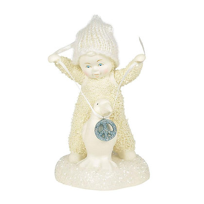 Snowbabies Peace Peace Prize 6001867 Department 56 New 2018